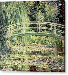 White Nenuphars Acrylic Print by Claude Monet