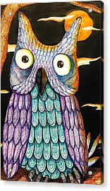 Whom? Acrylic Print by Jame Hayes