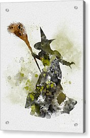 Wicked Witch Of The West Acrylic Print by Rebecca Jenkins
