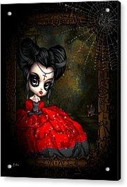 Wide Eye Vampire Acrylic Print by G Berry