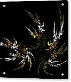 Wild And Free Acrylic Print by Bonnie Bruno