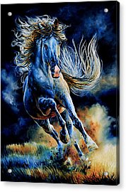Wild And Free Acrylic Print by Hanne Lore Koehler