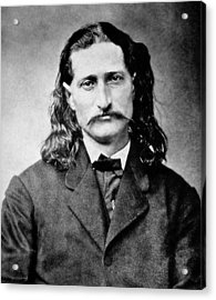 Wild Bill Hickok - American Gunfighter Legend Acrylic Print by Daniel Hagerman