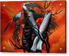 Wild Birds Acrylic Print by Carol Cavalaris