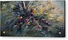 'wild Flowers' Acrylic Print by Michael Lang