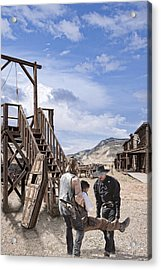 Wild Wild West_3 Acrylic Print by Wendy White