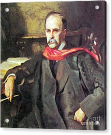 William Osler, Canadian Physician Acrylic Print by Science Source