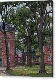 Williams College Frosh Quad Acrylic Print by Thor Wickstrom
