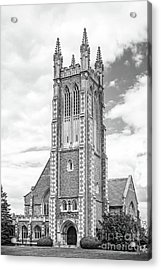 Williams College Thompson Memorial Chapel Acrylic Print by University Icons