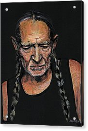 Willie Acrylic Print by Sean David Jenkins