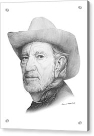 Willy Acrylic Print by Mamie Greenfield