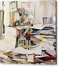 Wind Of Change Acrylic Print by Jeremy Annett