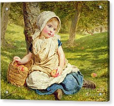 Windfalls Acrylic Print by Sophie Anderson