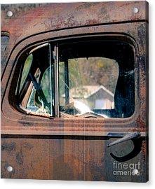Window In Rural America  Acrylic Print by Steven  Digman