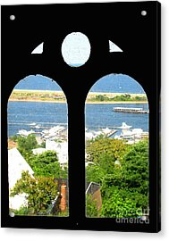 Window View Acrylic Print by Colleen Kammerer