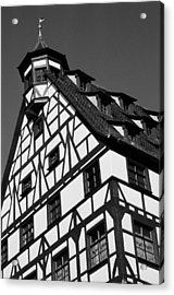Windows ... Acrylic Print by Juergen Weiss