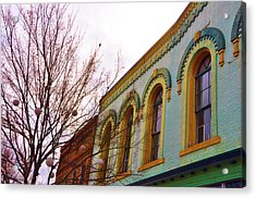 Windows Of Color Acrylic Print by Jan Amiss Photography