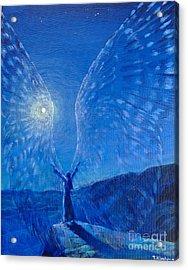 Winged Acrylic Print by Tatiana Kiselyova