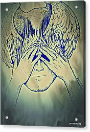 Wings To The Thoughts Acrylic Print by Paulo Zerbato