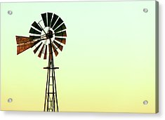Winmill Tint Acrylic Print by Todd Klassy