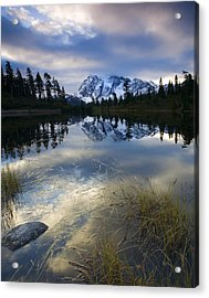 Winter Approaches Acrylic Print by Mike  Dawson