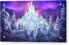 Winter Wonderland Acrylic Print by Philip Straub