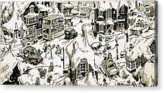 Winterscape Acrylic Print by Jesus Blasco