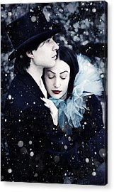 Wintersoul Acrylic Print by Cambion Art