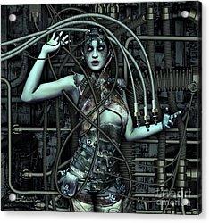 Wired Acrylic Print by Jutta Maria Pusl