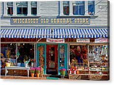 Wiscasset General Acrylic Print by Susan Cole Kelly