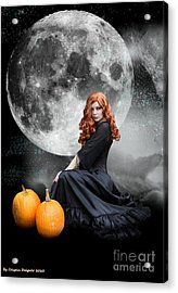 Witching Hour  Acrylic Print by Crispin  Delgado