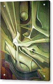 Wl1989dc004 New Dimension Of The Light 26 X 37.6 Acrylic Print by Alfredo Da Silva