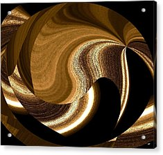 Wood Grains Acrylic Print by Will Borden