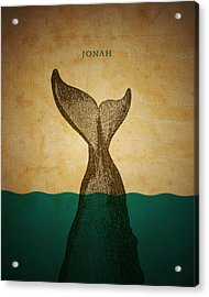 Wordjonah Acrylic Print by Jim LePage