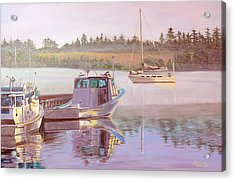 Work And Play Acrylic Print by Lorraine Vatcher