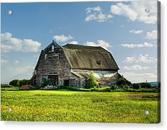 Working This Old Barn Acrylic Print by Gary Smith