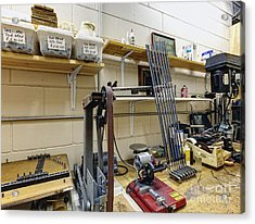 Workshop For Manufacturing Golf Clubs Acrylic Print by Skip Nall