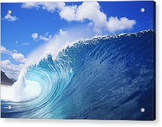 World Famous Pipeline Acrylic Print by Vince Cavataio - Printscapes