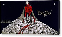 World War I, Streetcar Advertisement Acrylic Print by Everett