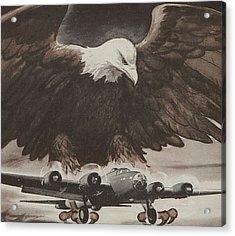 World War II Advertisement Acrylic Print by American School