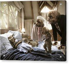 Worst Nightmare Acrylic Print by Karen Alsop