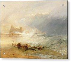 Wreckers - Coast Of Northumberland Acrylic Print by Joseph Mallord William Turner