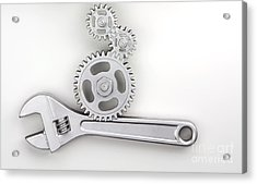 Wrench Acrylic Print by Blink Images