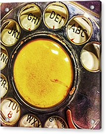 Wrong Number  Acrylic Print by Jame Hayes