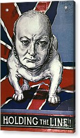 Wwii:churchill Poster 1942 Acrylic Print by Granger