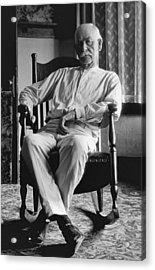 Wyatt Earp 1923 - Los Angeles Acrylic Print by Daniel Hagerman