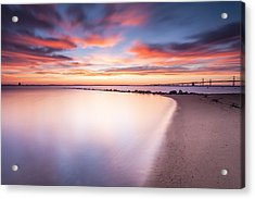 Yearning For More Acrylic Print by Edward Kreis