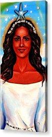 Yemaya-the Goddess Acrylic Print by Carmen Cordova
