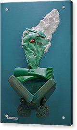 Yogi Levitation Acrylic Print by Michael Jude Russo