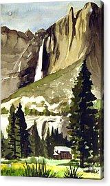 Yosemite IIi Acrylic Print by Bill Meeker